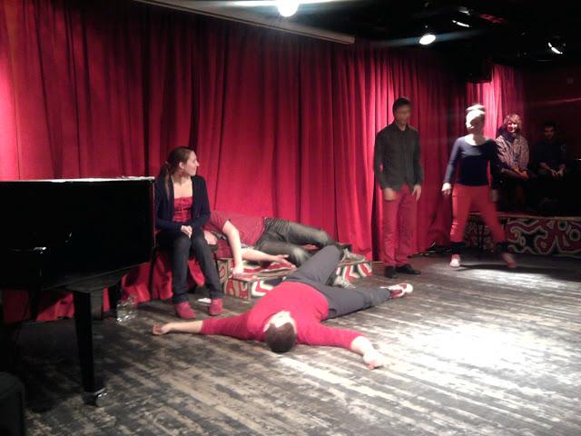 Scene from JadaJada show