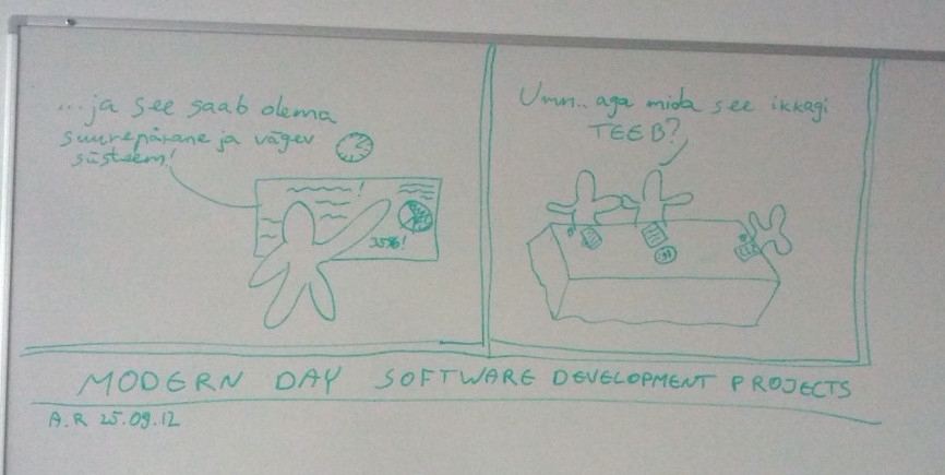 Modern day software development comics