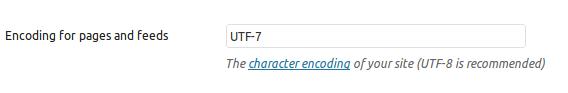 UTF-7 encoding