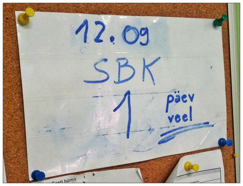 SBK countdown