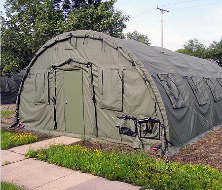 Command tent