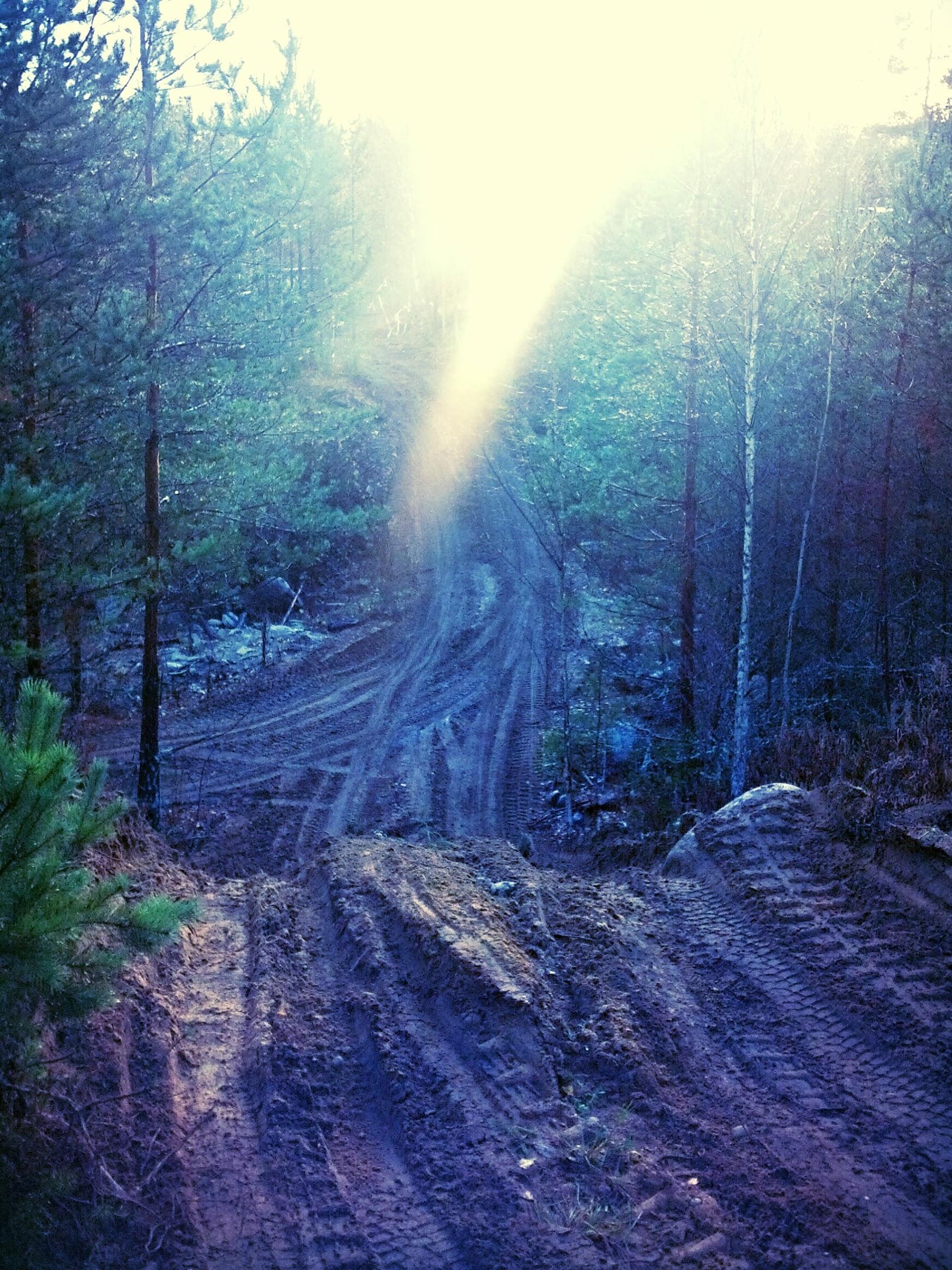 Sandy road 2