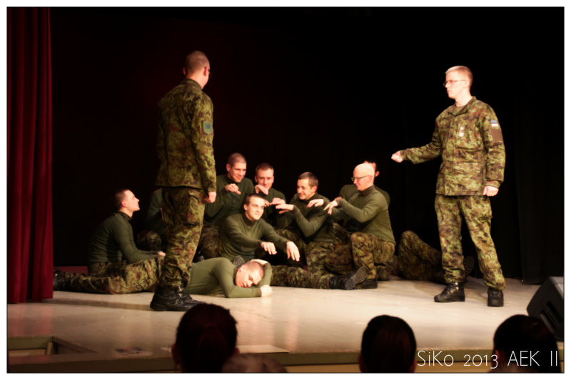Improv with soldiers
